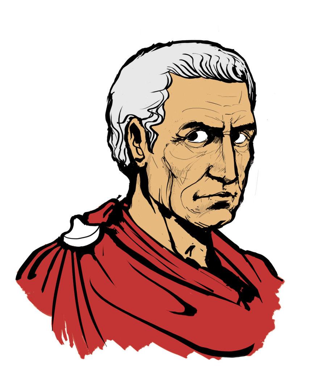 Julius Caesar clipart Augustus Caesar ClipArt Rome emaze on  Ancient
