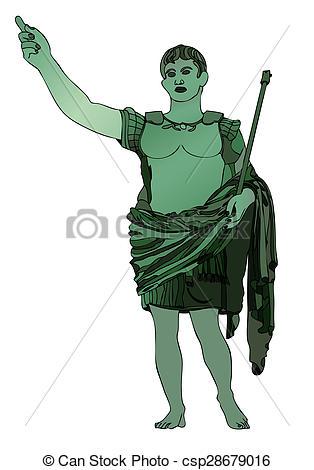 Julius Caesar clipart Augustus Caesar ClipArt  Caesar Emperor Clipart Caesar