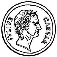 Julius Caesar clipart Julius Caesar Coin Drawing / Groves Electronic Julius Classroom