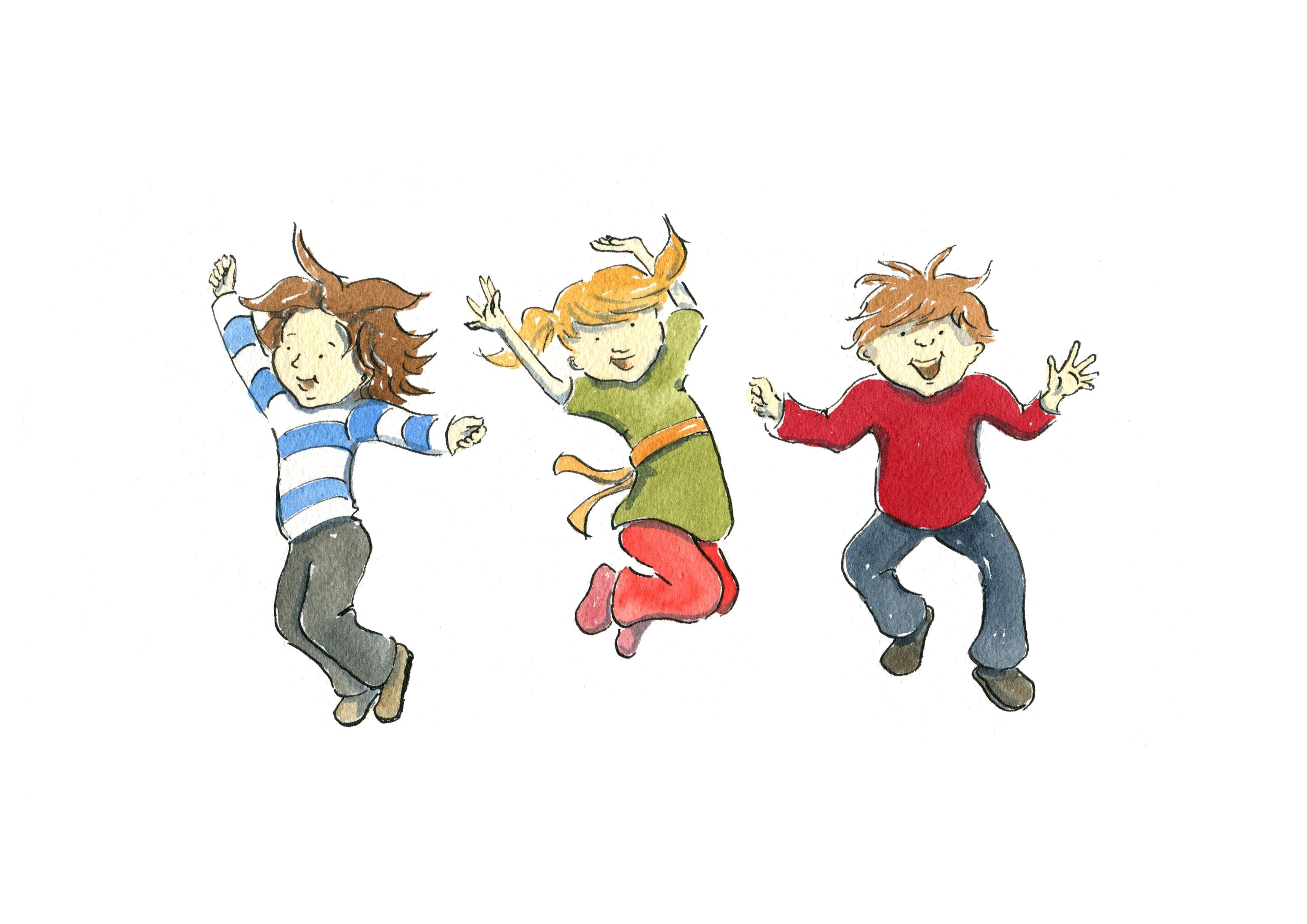 Jump clipart – Clip Boy Jump Art