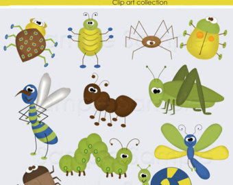 Bugs clipart jungle For calendars and Ms June…important
