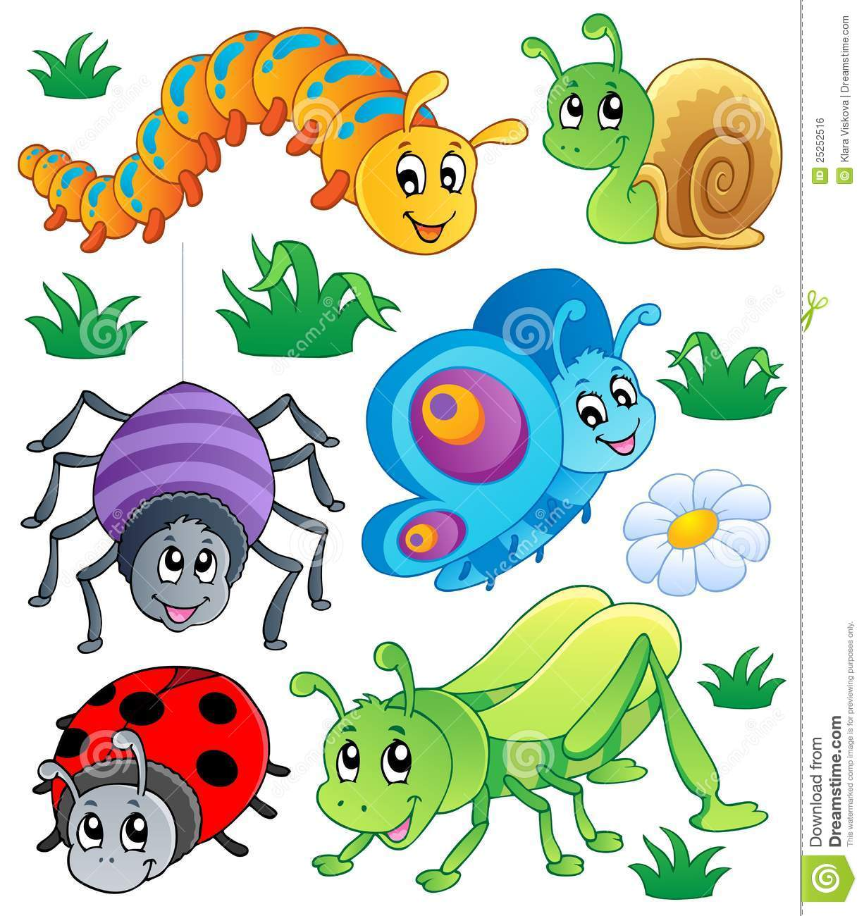 Bugs clipart jungle Cute Clipart Clipart Insect Download