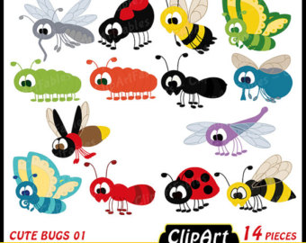 Bugs clipart jungle Clipart clip Download insect and