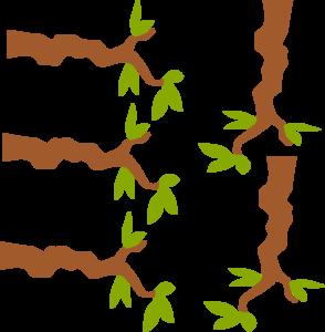 Branch clipart vector art Clip Art Clker at Tree