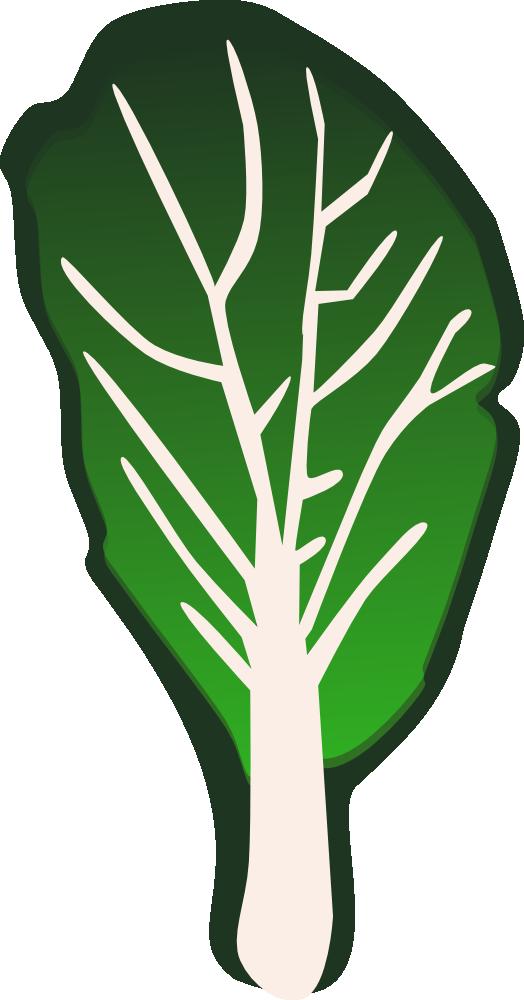 Kale clipart vegatable Vegetables  OnlineLabels Clip Art