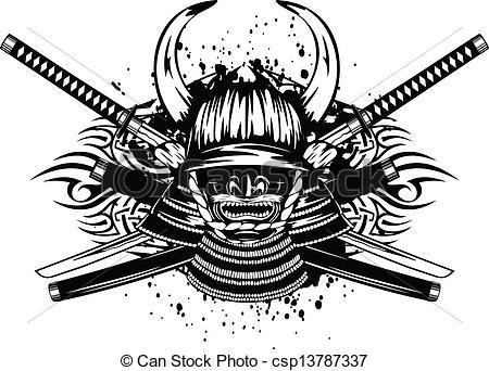 Katana clipart tribal Of Vectors and Vector samurai