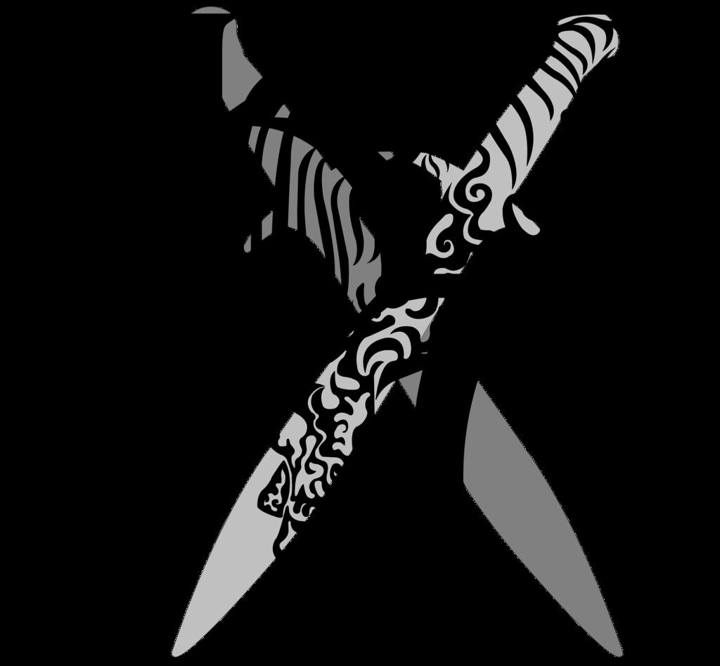 Katana clipart tribal Watermark Alicorn Tate Tribal Katana