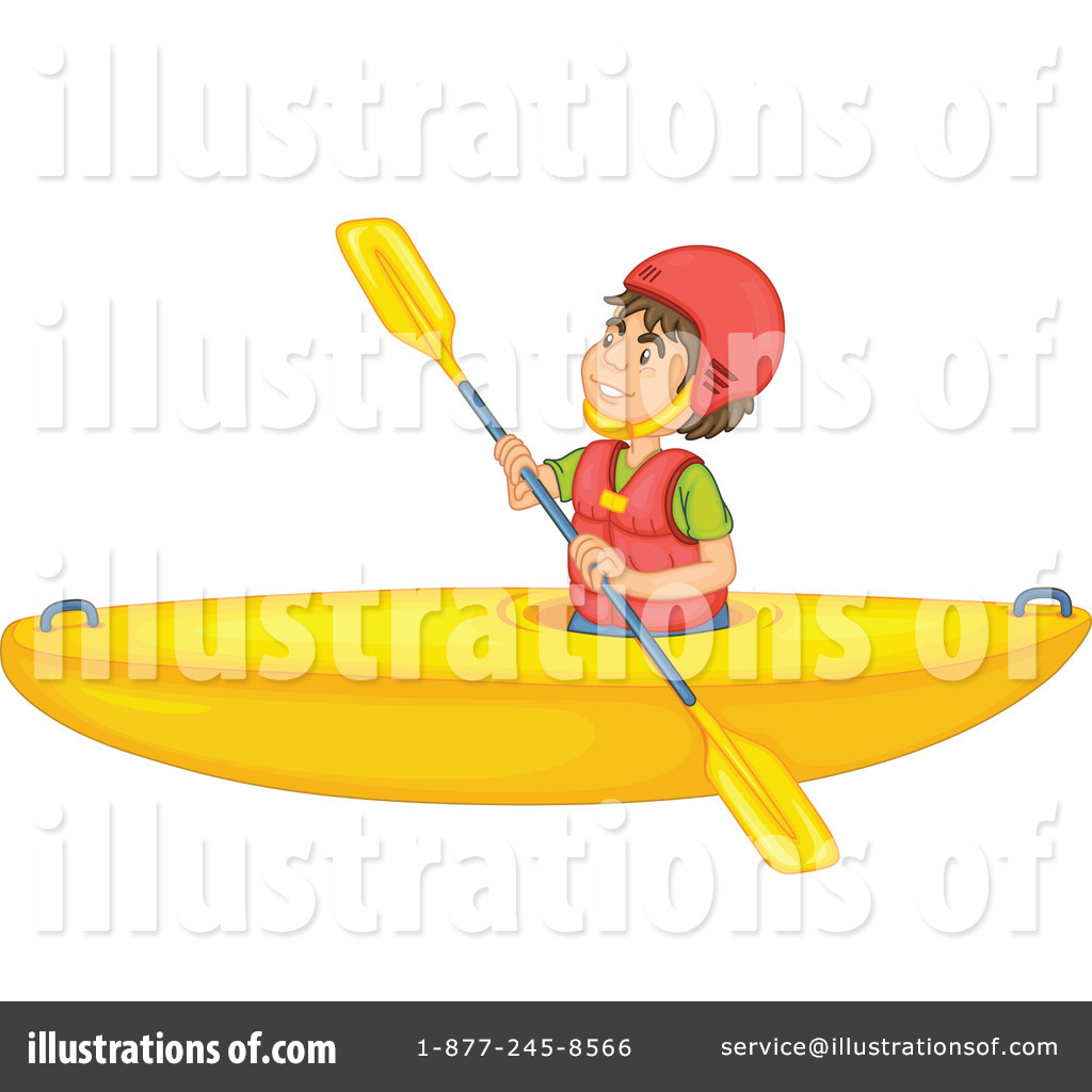 Kayak clipart water boat By Royalty Kayak by (RF)