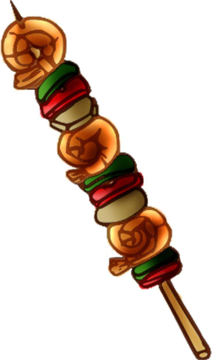 Kebab clipart This more Pinterest Find art