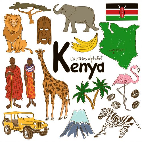 Kenya clipart Country Pinterest with about Pays: