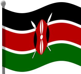 Kenya clipart Clip Flag Kenya Kenya Waving