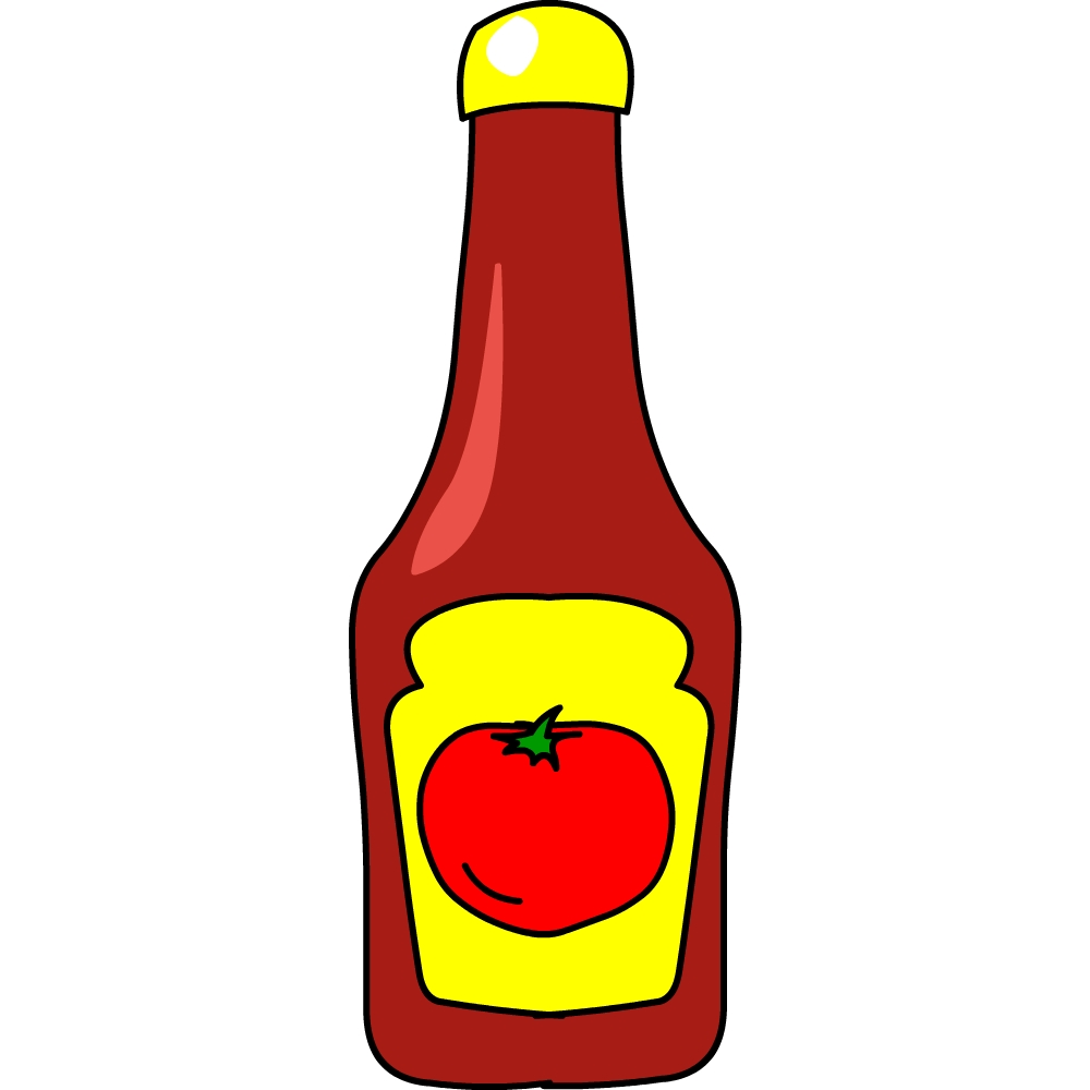 Ketchup clipart Ketchup Download  Clip Free