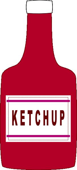 Ketchup clipart Ketchup Clip clip com Clker