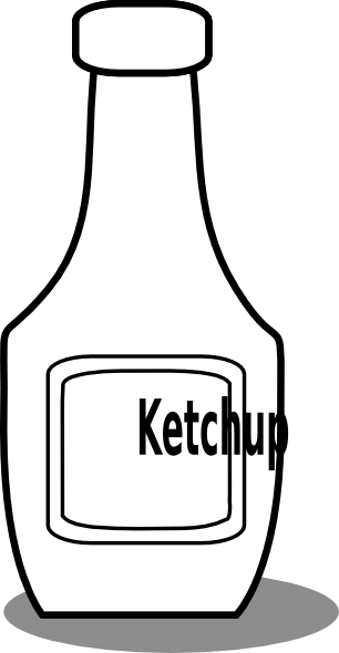 Sauce clipart black and white Clip Download And com as:
