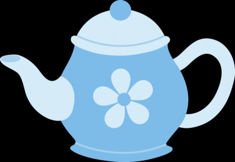 Kettle clipart Teapot teapot Kettle Blue PNG