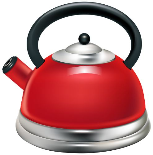 Kettle clipart Clipart Red PNG WEB Kettle