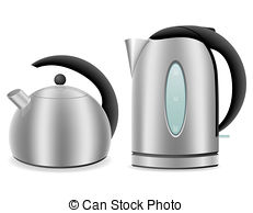 Kettle clipart gas burner And and isolated gas