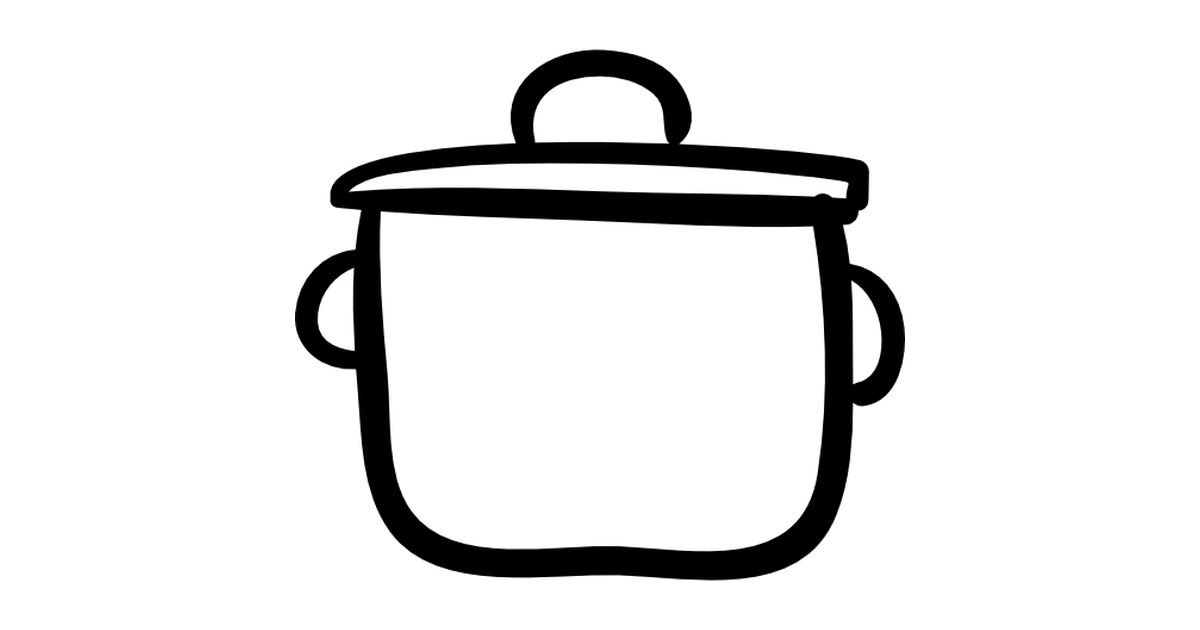 Kettle clipart outline Cooking  Tools and Free