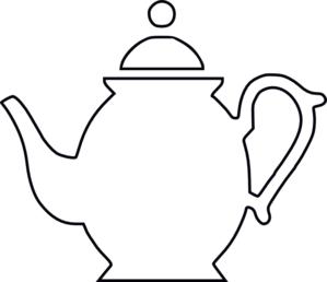 Kettle clipart outline Kettle kettle%20clipart%20black%20and%20white Images Clipart Free
