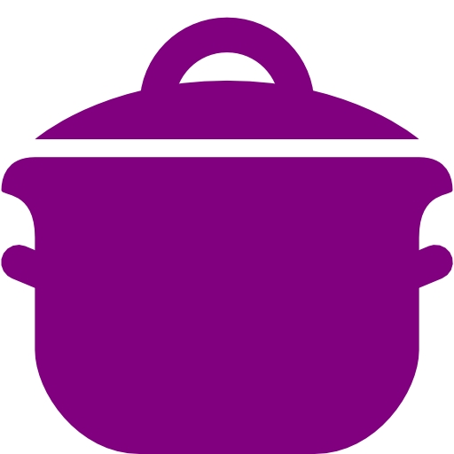 Kettle clipart purple Icon cooking  purple cooking
