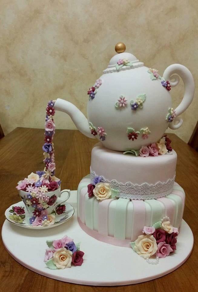 Kettle clipart tea cake Cakes and 210 Tea Pin