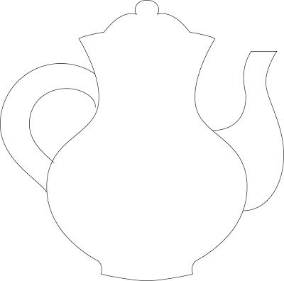 Kettle clipart tea cake With template a coffee cakes