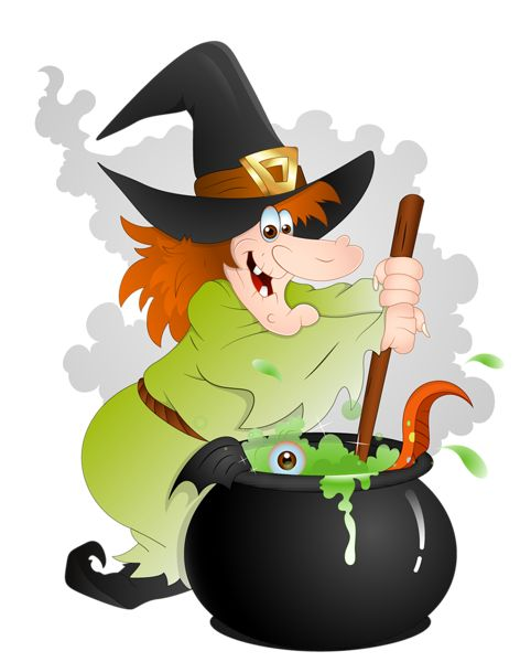 Witch clipart unusual About on Clipart with Cauldron