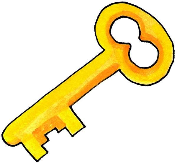 Key clipart Clipart Images Panda Clip Key