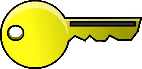 Key clipart animated  Cartoon Key Clipart