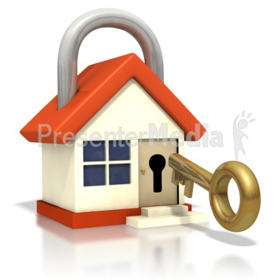 Lock clipart door lock Insert Presentation house key ID#