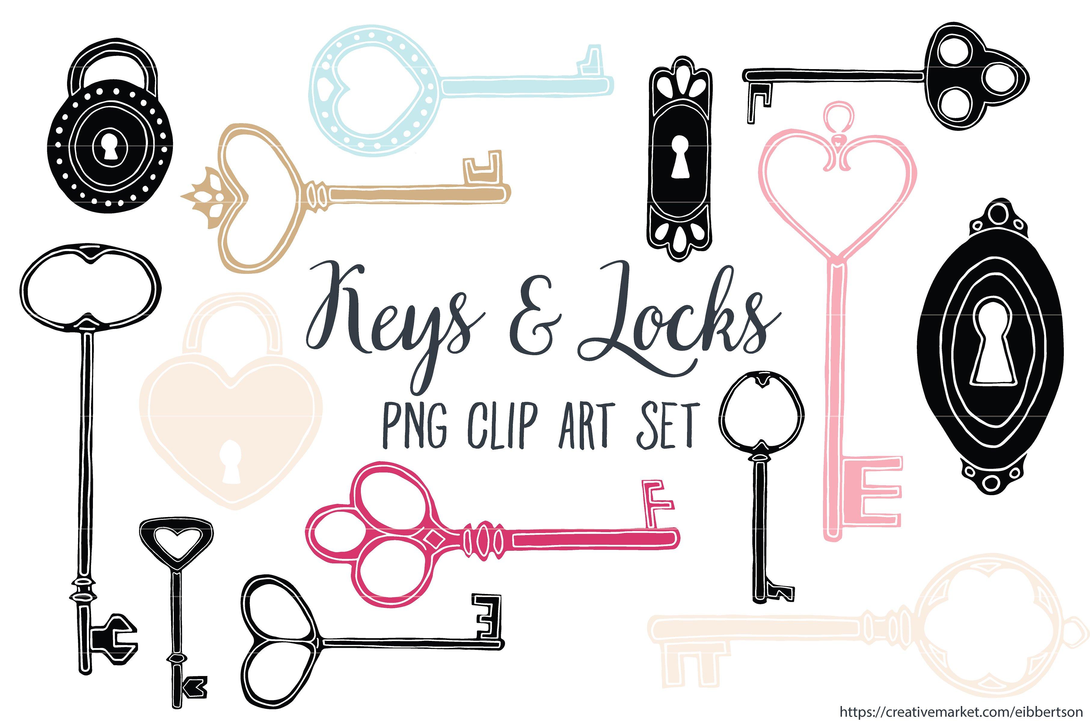 Key clipart antique key Keys on Illustrations  Key