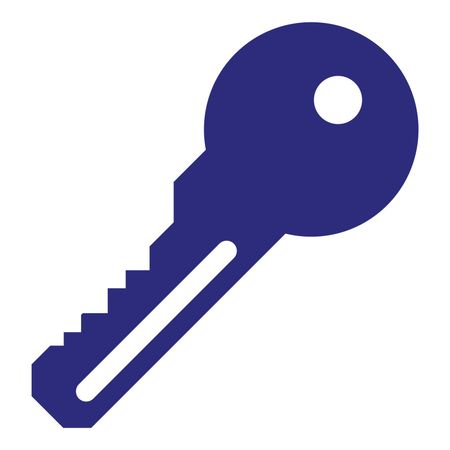 Key clipart blue Illustration Freestock of Illustration Key