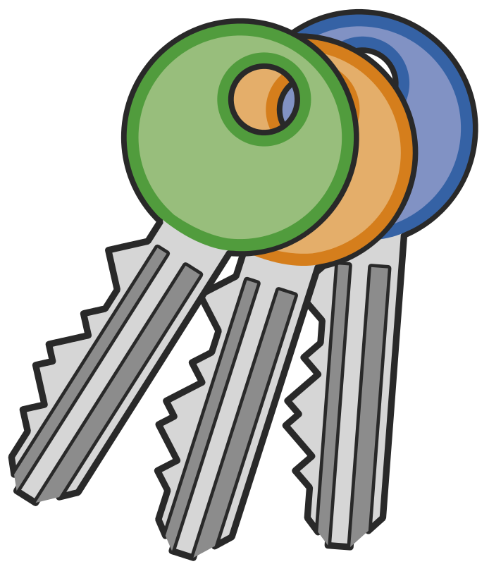 Iiii clipart key Key to Clipart cliparts Pictures