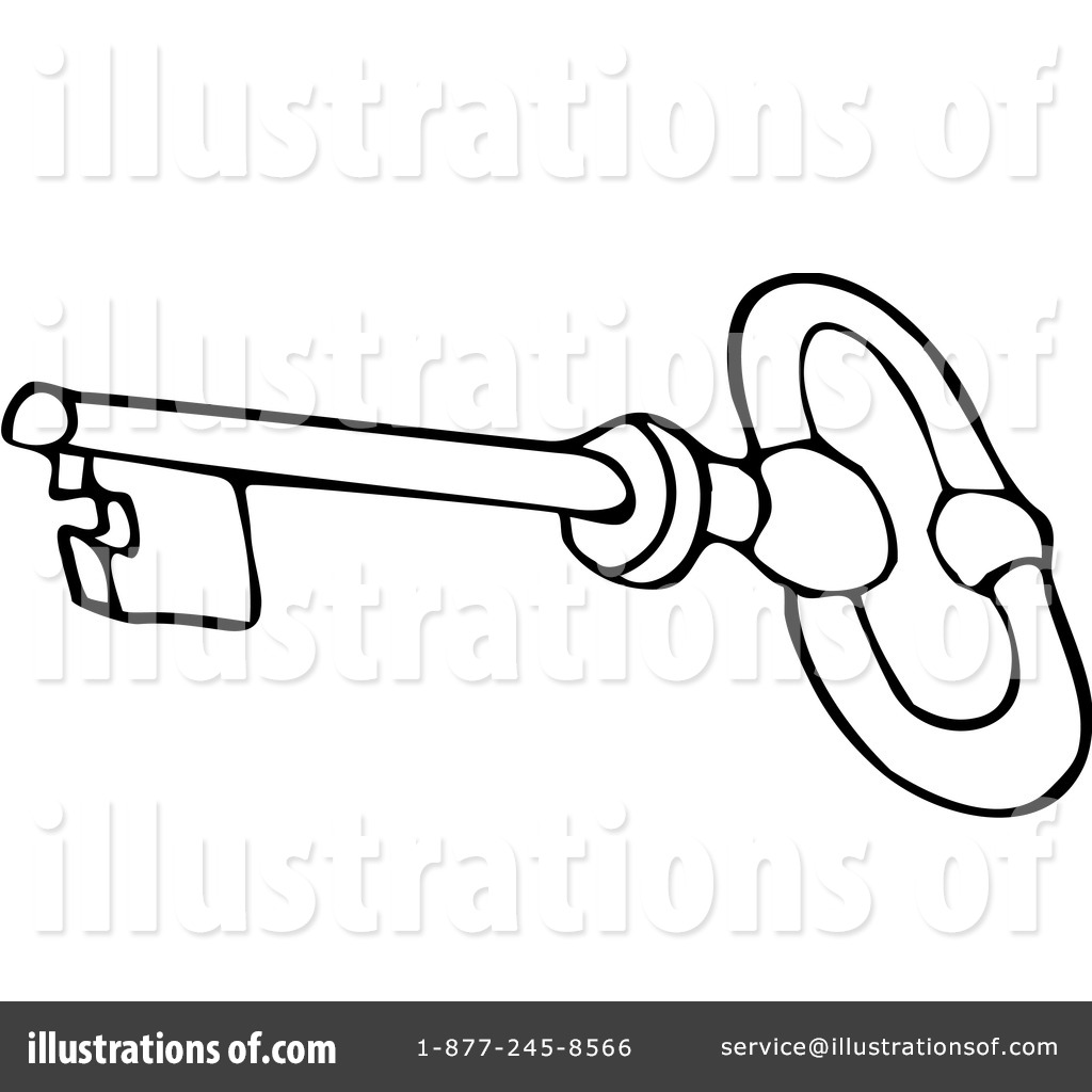 Key clipart colouring page Clipart Dennis Angelina By Key