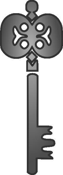 Key clipart gray Clip at Key  &