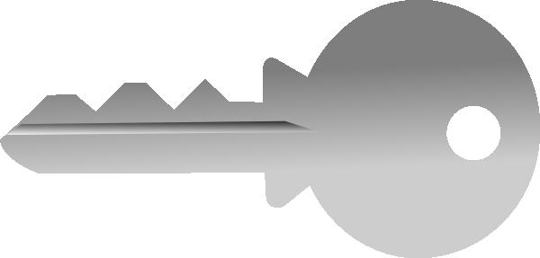 Key clipart gray Art Clip com vector Art