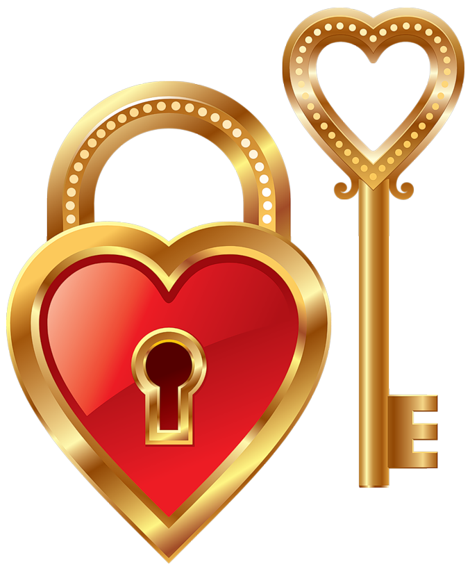 Key clipart key lock #7