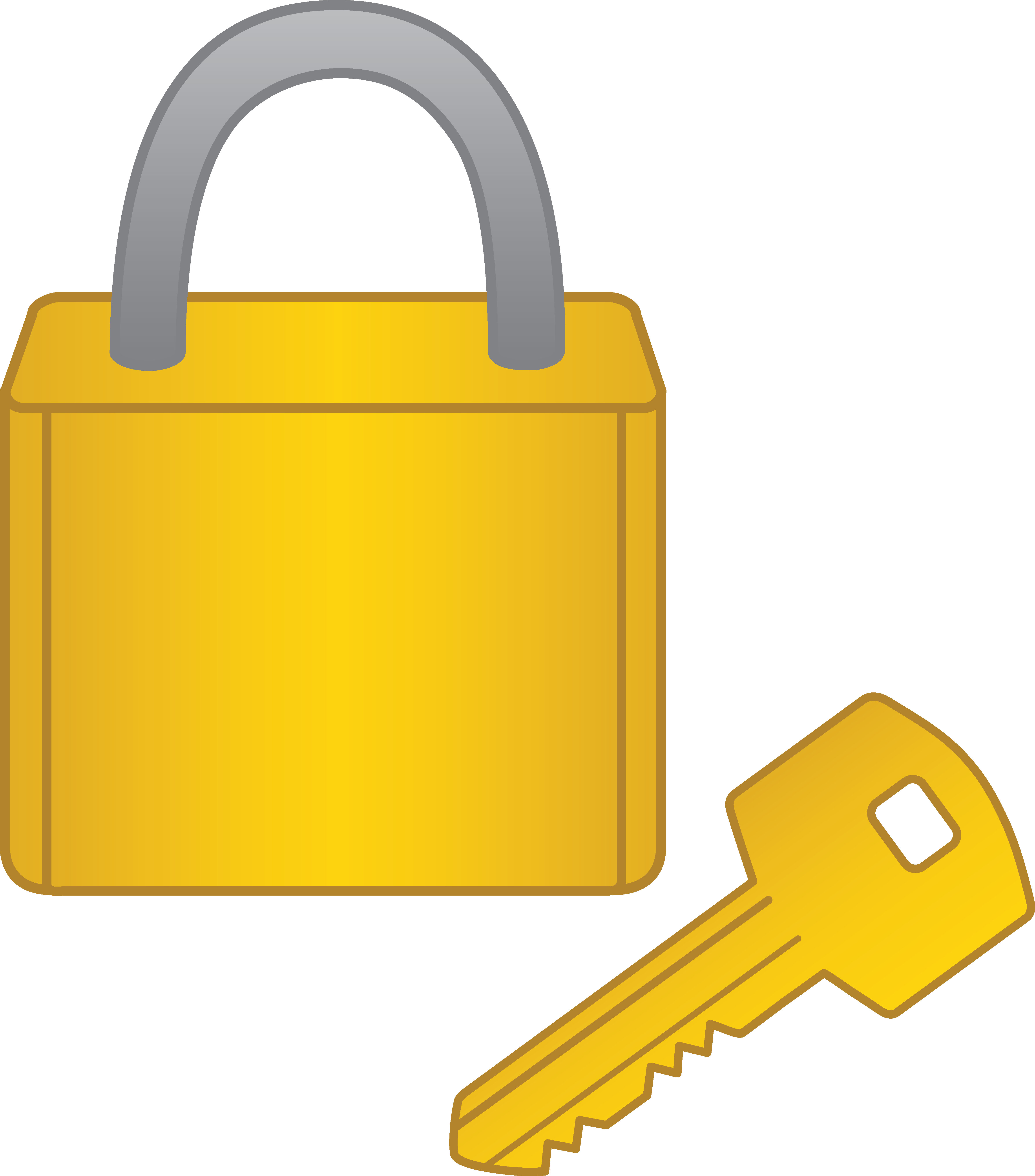 Key clipart key lock #12