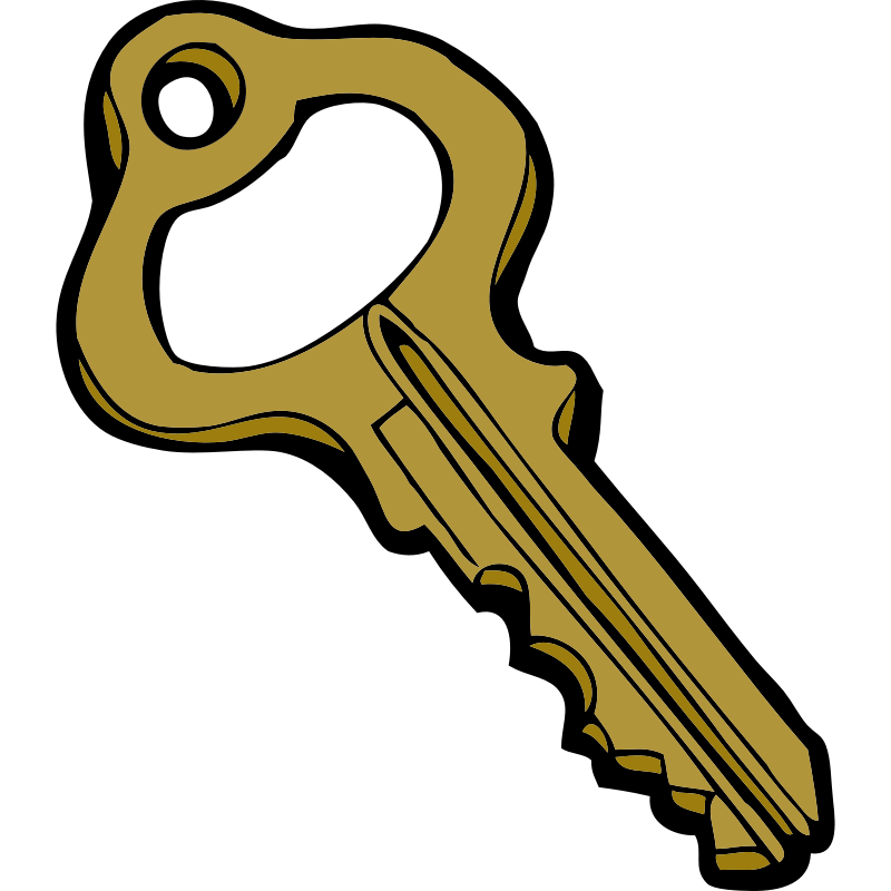 Key clipart key lock #1