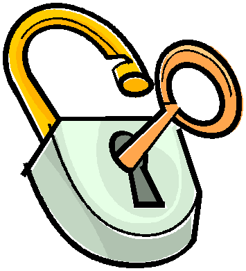 Key clipart key lock #9