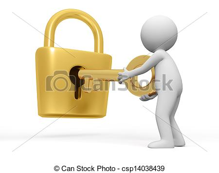 Key clipart key lock #2
