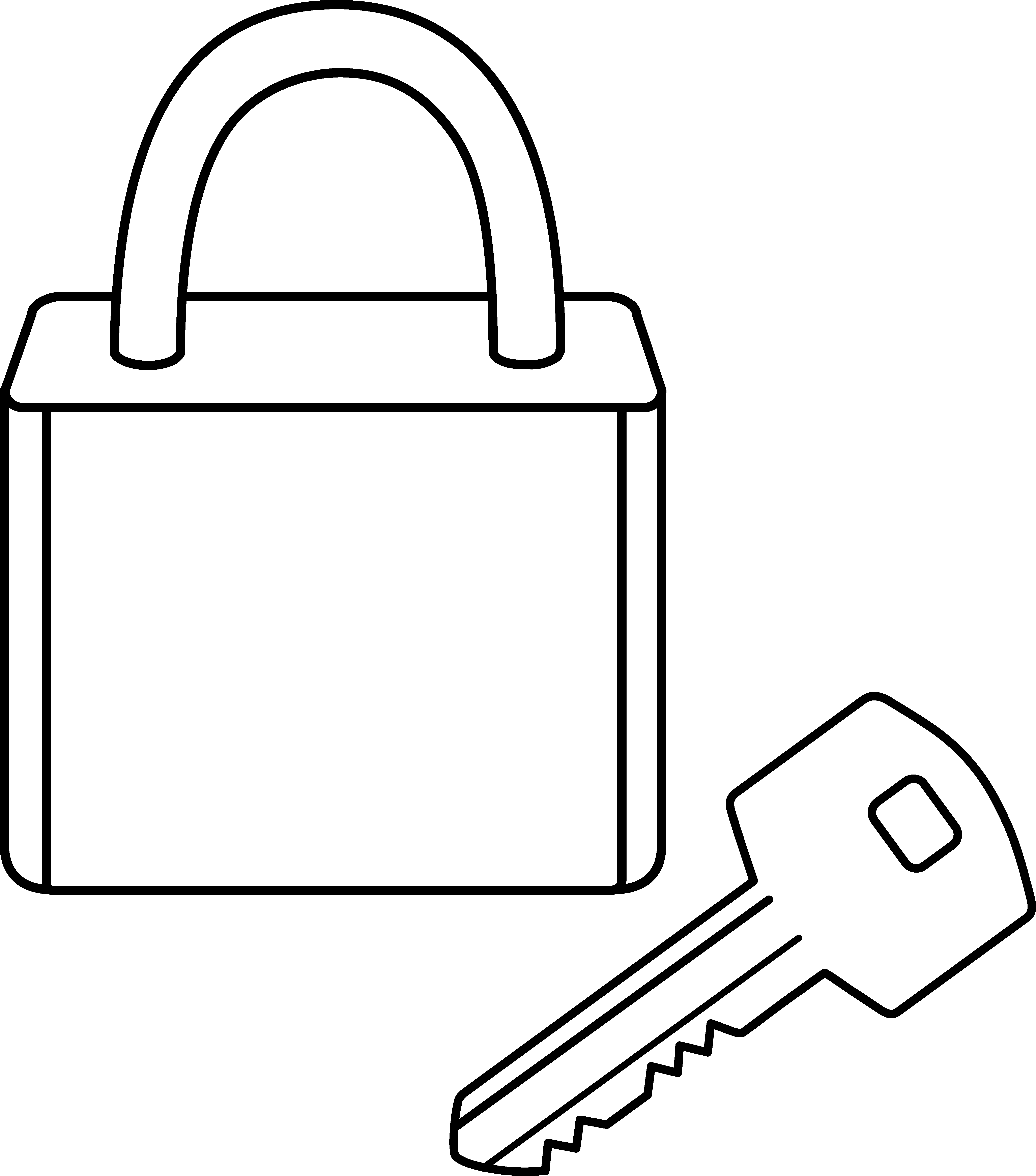 Key clipart key lock #14