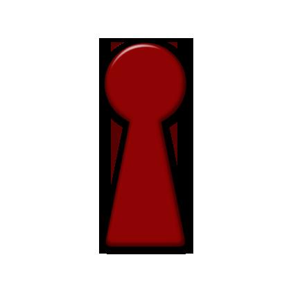 Sleleton clipart keyhole Tags Icon Keyhole #086811 Icons