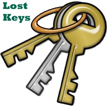 Key clipart lost key Information lost Key button key