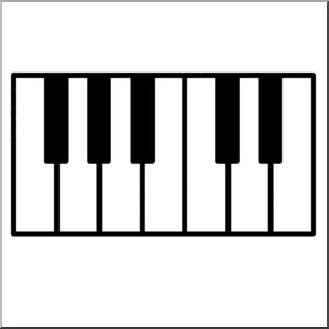 Key clipart piano Hands Collection Key on keys