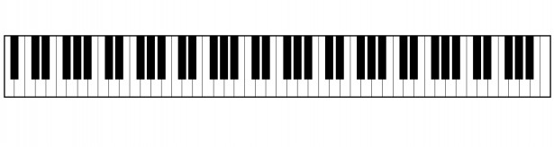 Key clipart piano  Domain Pictures Piano Clipart