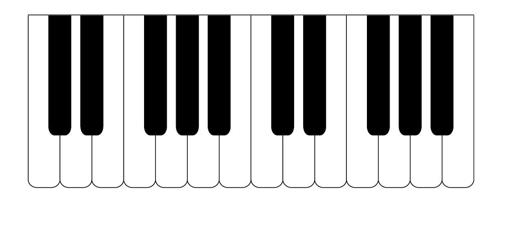 Key clipart piano Clip Piano Keys Free keyboard