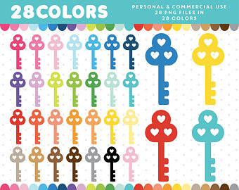 Key clipart six Antique Old clipart Keys Keys