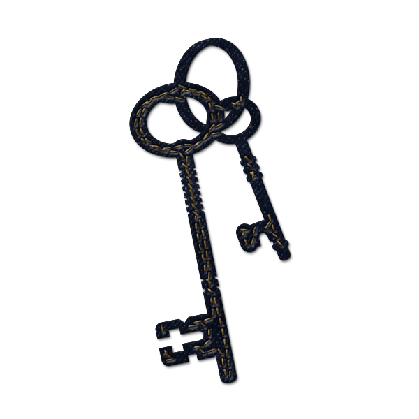 Key clipart skeleton key Free Clipart Cliparts Double The