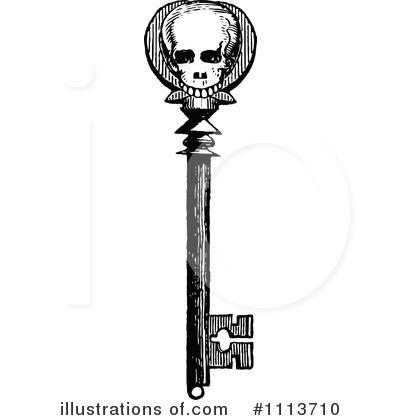 Key clipart skeleton key Key Clipart #1113710 Sample Vintage